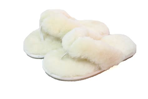 toe slippers sheepskin toe post slippers ecl979 the leather and