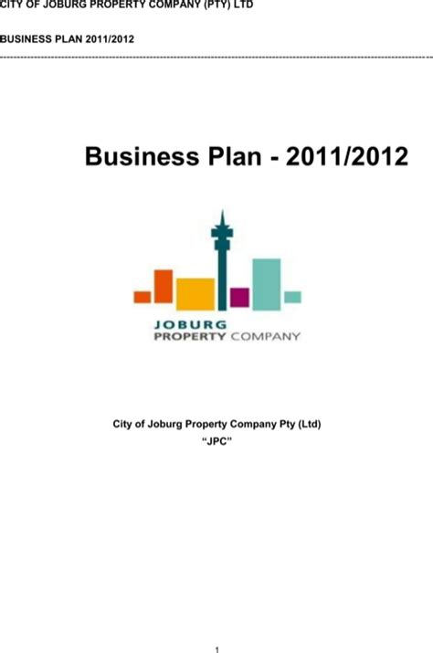 construction business plan template for free