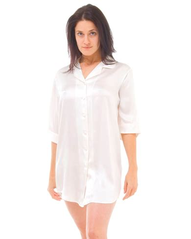 Cherry Decorations For Home by Silk Nightshirt Women Nightwear Night Shirts The