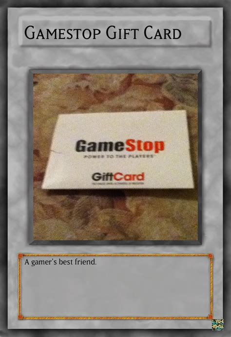 Game Shop Gift Card - gamestop gift card card by leafman813 on deviantart