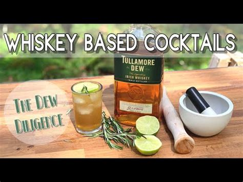 delicious easy   cocktails  whiskey youtube
