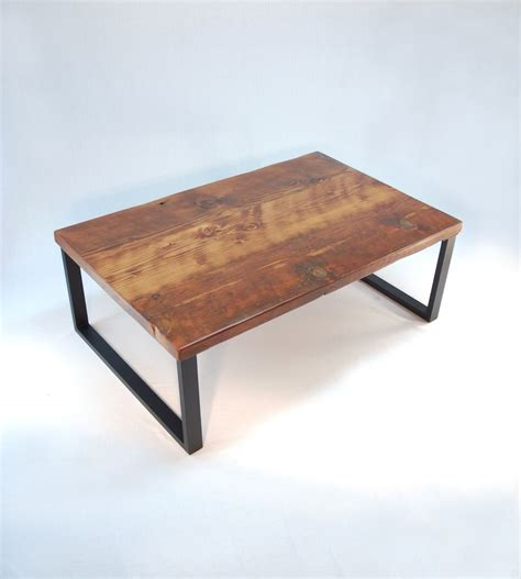 custom made coffee tables handmade redmond rustic modern coffee table by jonathan