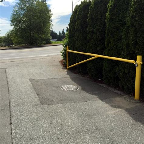 driveway swing gates driveway barrier swing gates bc site service