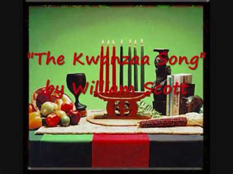quot the kwanzaa song quot by william scott a k a djoser pharaoh