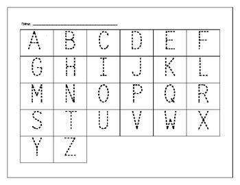 printable abc worksheets for pre k pre kindergarten alphabet worksheets worksheets for all