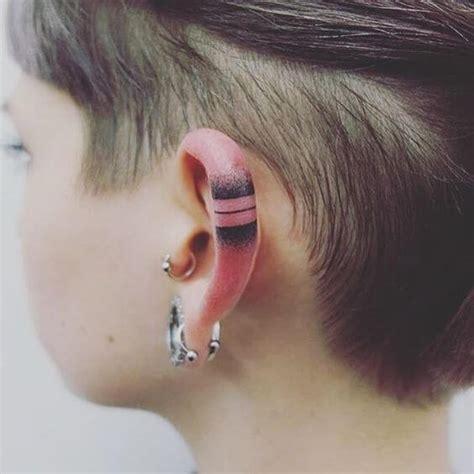 imagenes tatuajes detras de la oreja tatuajes en la oreja tatuajes logia barcelona