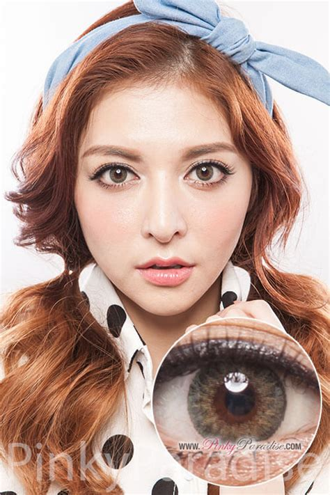 geo tri color green geo tri color green circle lenses colored contacts
