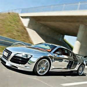 audi r8 chrome my wishlist