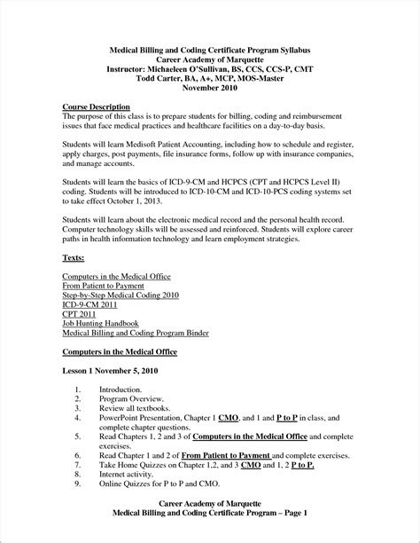 cover letter billing and coding free sle cover letter for billing and coding