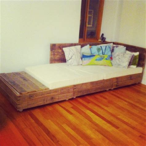 diy couch bed diy pallet sofa bed designs and styles pallets designs