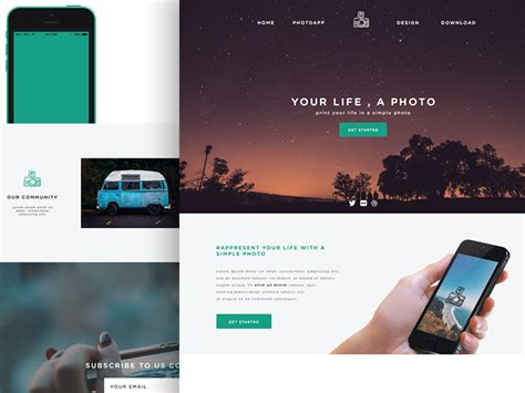 basic site template simple website layout psd www pixshark images