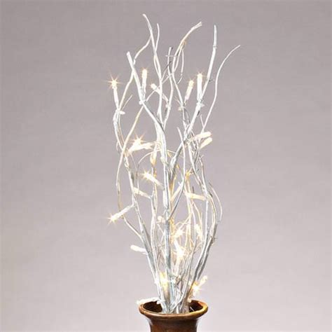 gerson 37910 20 quot b o silver willow lighted branches