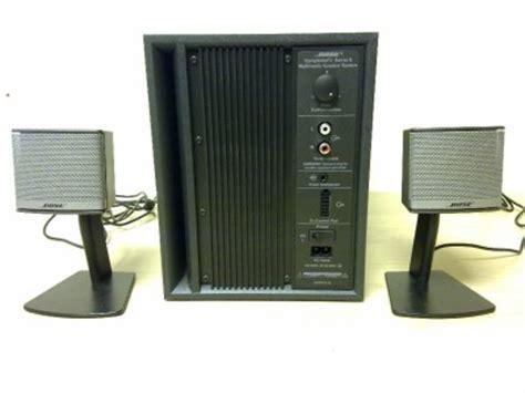 Speaker Bose Companion 3 bose companion 3 series ii multimedia speaker system ebay