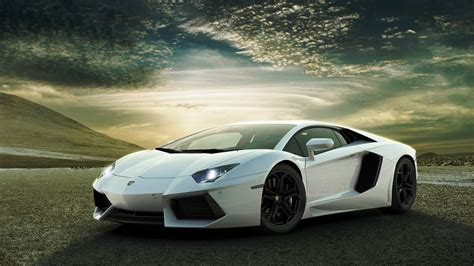 Lamborghini Aventador Wallpaper 1920x1080 White Lamborghini Aventador Wallpapers Hd Wallpapers