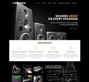 Records Website Preview Records Mc Marketing 360 Web Design Marketing