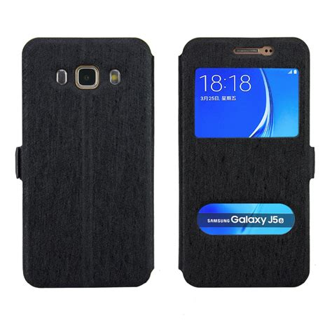 Softcase Samsung J5 2016 Samsung J7 2016 Leather Style for samsung galaxy j1 j3 samsung j5 j7 2016 j5 j7 j1 j3 2016 smart front window view