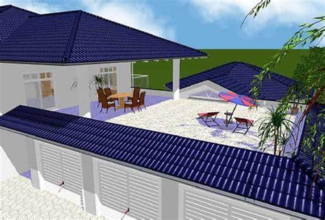garagen hörmann einfamilienhaus mit dachterrasse auf garage kreative