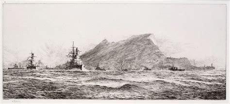 rock of gibraltar l the rock of gibraltar maritime prints