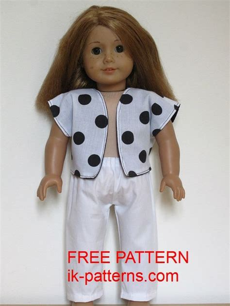 Girl Doll Clothes Free Pattern And Doll Clothes On Pinterest American Doll Clothes Templates