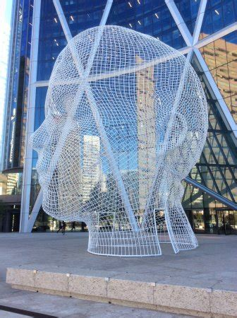 great public art. picture of river cafe, calgary