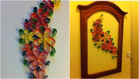 cara membuat origami untuk hiasan dinding cara membuat hiasan dinding cantik dari kertas rumah