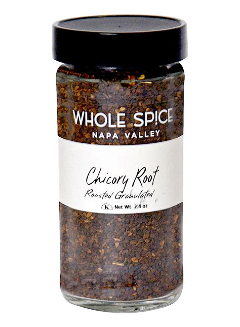 chicory root roasted granulated  spice
