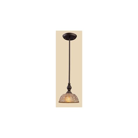 Rustic Mini Pendant Lighting Shop Westmore Lighting Norfolk 8 In Bronze Rustic Mini Tinted Glass Dome Pendant At Lowes