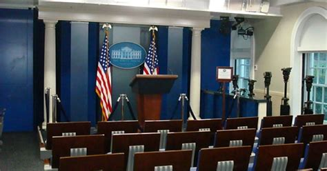 Press Room by The White House Press Briefing Room Might Become A Hostile