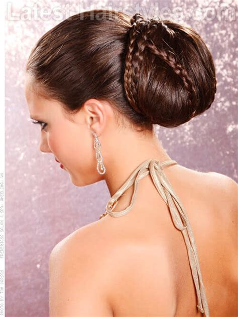 hairstyles with big buns the 15 hottest prom hair ideas