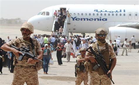 emirates yemen uae runs aden as protectorate while hadi hides in the