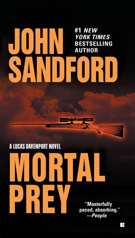 prey a prey novel sandford mortal prey
