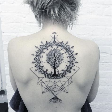 tattoo mandala tree 59 dreamy mandala tattoos you can t ignore tattoomagz