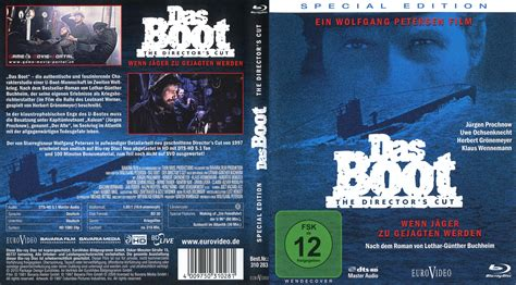boat dvd das boot blu ray cover german german dvd covers