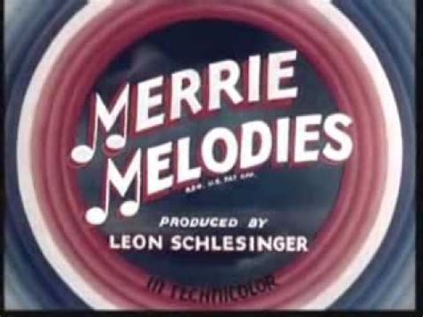 merrie melodies 1940 intro youtube