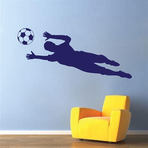 soccer wall sticker soccer goalie wall decal sticker sport murals trendy