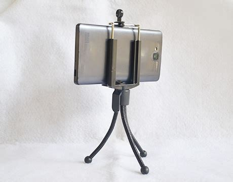 Monopod Hp tripod handphone mini tinggi 10cm