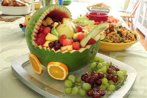 Salad For Baby Shower by Fruit Salad Decoration For Baby Shower