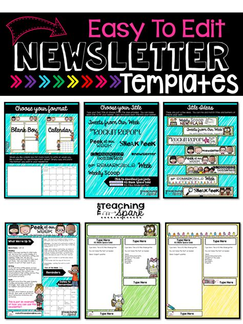 College Newsletter Sles Tpt Back To School Sale Monday Tuesday That Teaching Spark
