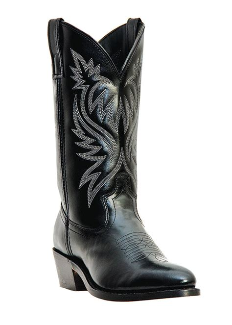 mens black cowboy boots new mens laredo black leather western cowboy boots