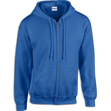 design your own gildan hoodie classic fit full zip hooded sweatshirt from gildan pro