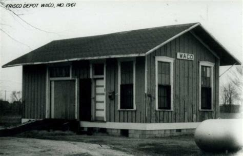 Home Depot Waco by Waco Missouri Depot 187 Frisco Archive