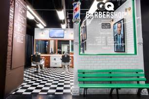 Small Hair Salon Floor Plans barbershop 187 retail design blog