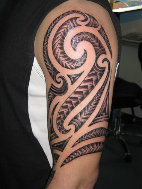 tribal arm sleeve tattoo aztec tattoos designs ideas and meaning tattoos for you