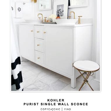 Kohler Purist Wall Sconce Bathroom Archives Page 4 Of 9 Copycatchic