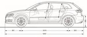 2010 audi a3 side dimensions eurocar news