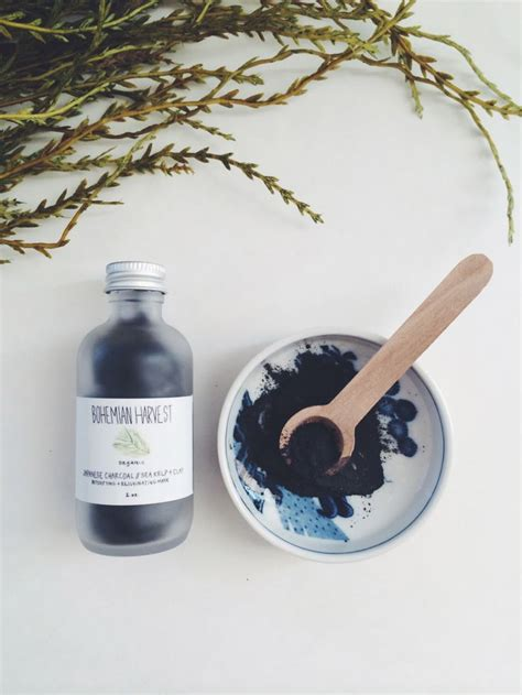 Activated Charcoal And Bentonite Clay Detox by Charcoal Clay Mask Organic Detoxifying Mask Sea