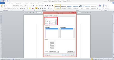 ukuran kertas spasi huruf ukuran huruf dan margin format penulisan makalah margin kertas font dan spasi