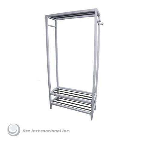 home decorators collection hanger and shoe rack stand in