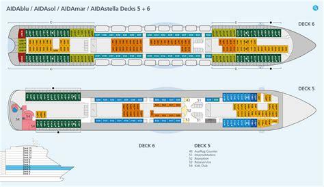 Aida Deck 5 by Aidasol Bewertungen Reiseberichte Bilder