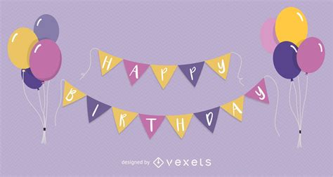 Balon Happy Birthday Car happy birthday balloon vector free vector